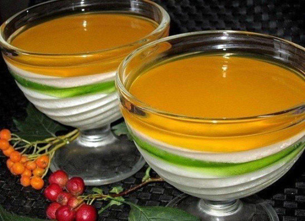 Желе из фруктов рецепт с фото