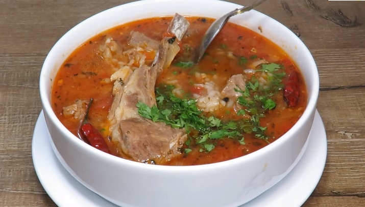 Ароматный суп Харчо с мясом по рецепту дяди Зураба!