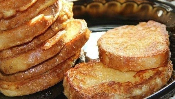 Идеальный завтрак для самых любимых без заморочек: Сырные Гренки