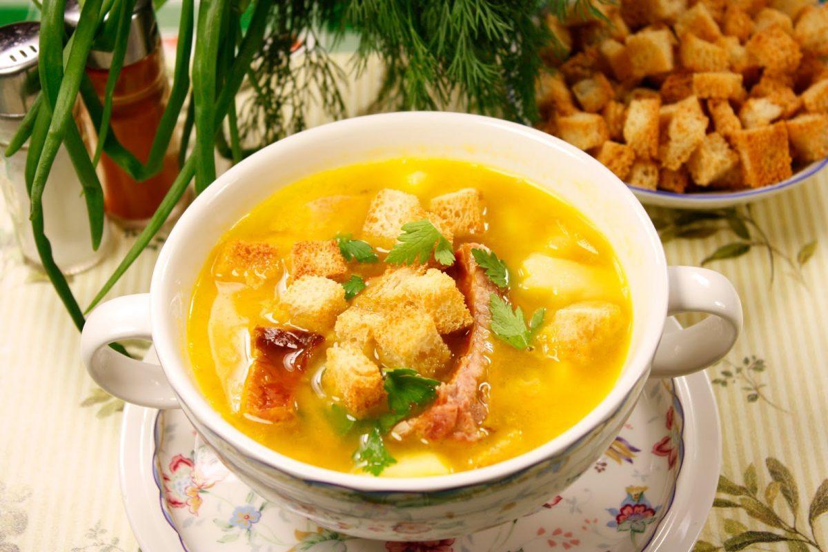 суп с копченостями рецепт гороховый