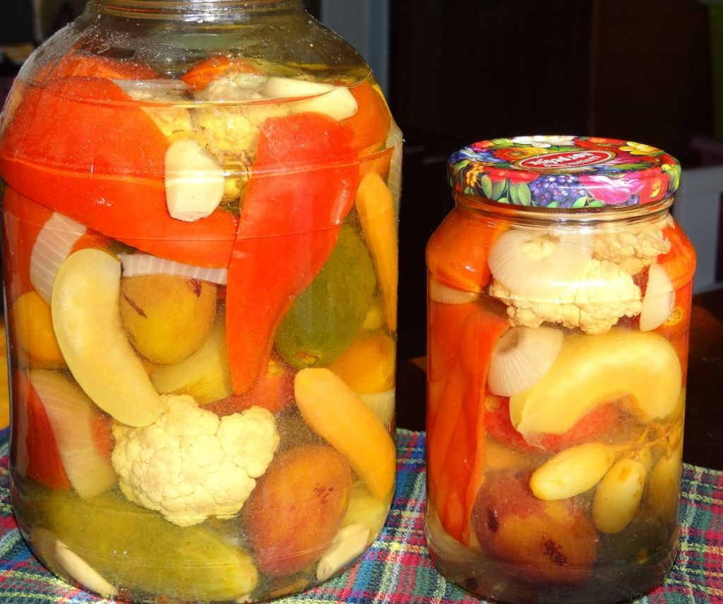 популярные соление ассорти из овощей с фото этот