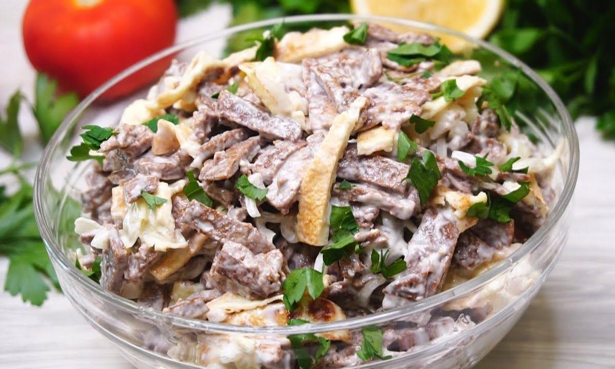Держи новинку! Обалденный салат с печенью